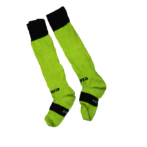 31-34-es fekete-zöld sportszár - Kipsta