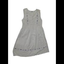 Női M-es fehér hímzett lenge ruha - Etam