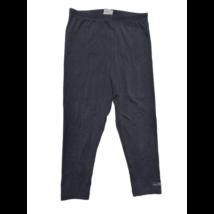 146-152-es fekete capri leggings - Jessica Sportswear