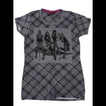 158-164-es szürke kockás lány póló - April Evil