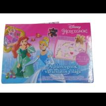 A hercegnők csodálatos világa - puzzle könyv