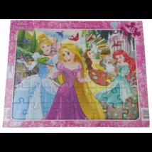 Disney hercegnők lap puzzle