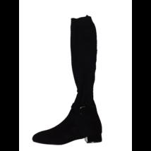 38-as fekete zoknistzárú elegáns csizma - Massimo Dutti - ÚJ