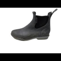 30-as fekete gumi lovagló bokacsizma - Decathlon