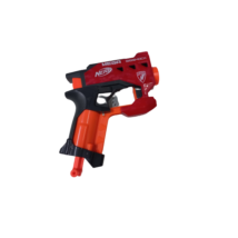 Piros-szürke Nerf pisztoly