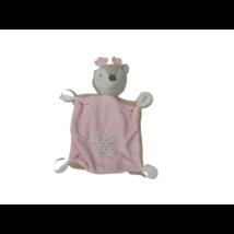 Barna-rózsaszín őzikés rongyi