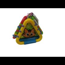 Háromszög formájú állatos színes bébijáték - Lamaze