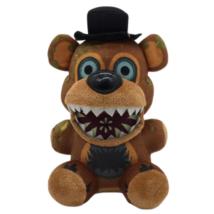 25 cm-es Freddy plüss figura - Five Night at Freddy's Twisted - FNAF - ÚJ