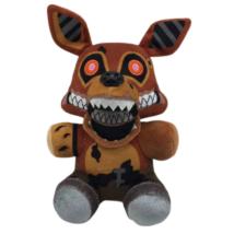 25 cm-es Foxy róka plüss figura - Five Night at Freddy's Twisted - FNAF - ÚJ