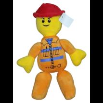 Narancssárga plüss figura - Lego City Movie - ÚJ