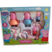Dobozos szett - Hintó, unikornis - Peppa Pig - Peppa malac - ÚJ