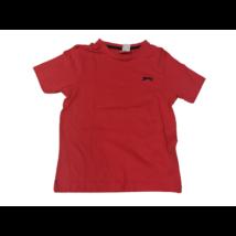 134-140-es piros unisex póló - Slazenger