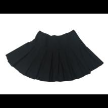 152-158-as fekete rakott szoknya, ünneplő szoknya - George