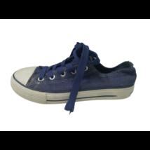 33-as kék csillogó vászoncipő