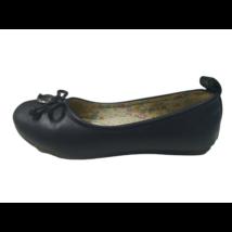 32-es sötétkék alkalmi cipő, balerina cipő