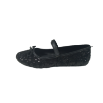 34-es fekete flitteres, pántos alkalmi cipő - Graceland