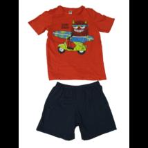 140-es piros-kék nyári pizsama - C&A