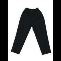 128-as fekete alkalmi nadrág, ünneplőnadrág