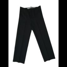 158-164-es (Férfi 36-os) fekete alkalmi nadrág, ünneplőnadrág - Classic Fashion