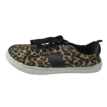 39-es arany-fekete, párducmintás félcipő, sneaker - ÚJ