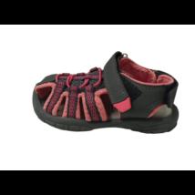 28-as szürke-rózsaszín szandálcipő - ÚJ