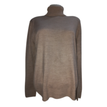 Női L-es (UK14) barna kötött garbó, pulóver - Marks & Spencer