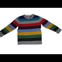 98-104-es színes csíkos kötött pulóver fiúnak - H&M