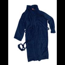 Felnőtt L-XL-es kék szőrmés köntös - Kronborg