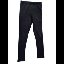 134-140-es fekete bélelt leggings - Cactus Clone