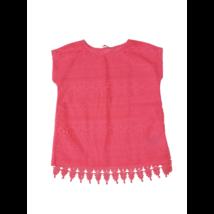 122-128-as uv rózsaszín csipkés ujjatlan felső - H&M