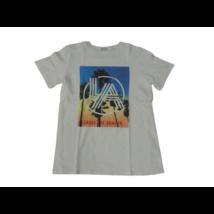 134-es fehér pálmafás póló - H&M