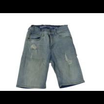 134-es kék szaggatott farmer rövidnadrág - H&M