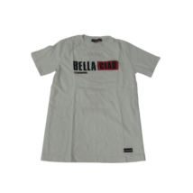 Férfi XS-es fehér feliratos póló - La Casa De Papel