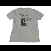 140-es fehér üdítős póló - Zara