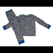 122-es szürke alapon csillagos pizsama