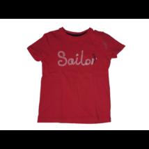 104-es piros feliratos póló - Little Kids