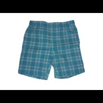 98-as kék-fehér kockás rövidnadrág