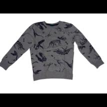 116-os szürke dinós pulóver
