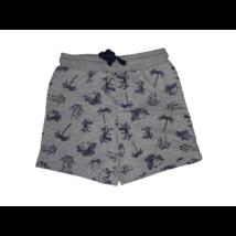 92-es szürke állatos pamut rövidnadrág, short