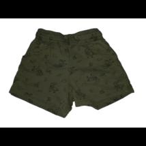 98-as khaki dínós pamut rövidnadrág, short - Fox & Bunny
