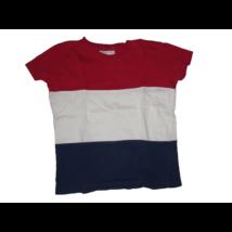 110-es piros-kék csíkos póló - Fox & Bunny