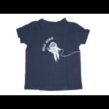 110-es kék űrhajós póló  - Fox & Bunny