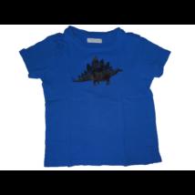 110-es kék dínós póló - Fox & Bunny