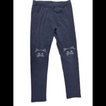 146-os kék cicás strasszköves leggings - Calzedonia