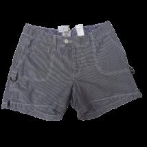 Női 36-os kék-fehér csíkos rövidnadrág, short - H&M