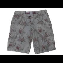 Női S-es fehér virágos rövidnadrág, short - Fresh Made
