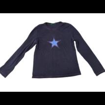 140-es kék csillagos pamutfelső - Marks & Spencer