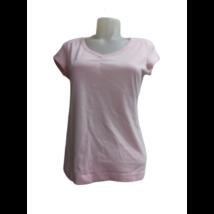 Női M-es rózsaszín hátul feliratos póló - Esprit