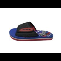 27-28-as kék-piros tépőzáras gumipapucs - In Extenso - ÚJ