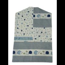 Kék-fehér sünis oviszsák - ÚJ